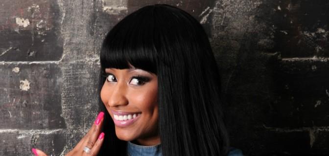 Nicki Minaj + Louis Vuitton + Guiseppe Zanotti= Rainbow Bright Done Right