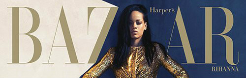 Rihanna Gets Classy for the August Issue of Harper's Bazaar