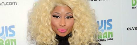 Nicki Minaj + Maiyet + Balmain + Christian Louboutin + Jason of Beverly Hills = All Black Everything…Except The Hair & Jewels