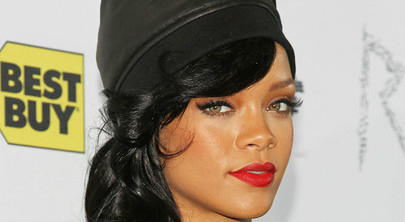 Rihanna Makes A Masculine Statement w/ Her Leather Look
