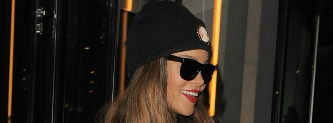 Rihanna Is Already Rocking Her Own Gear Phresh Off The Runway