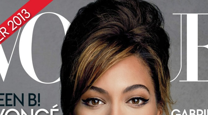 Beyoncé Channels Her Inner 90′s Supermodel For Vogue Spread